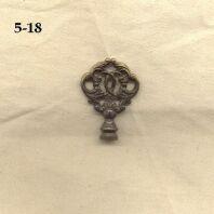 Antik Schlüssel Kopf