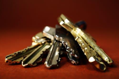 Wohnungs- und Hausschlüssel