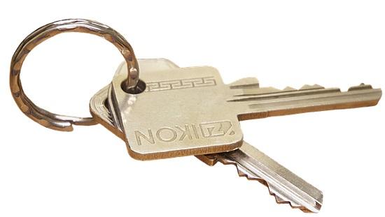 Sicherheits Hausschlüssel