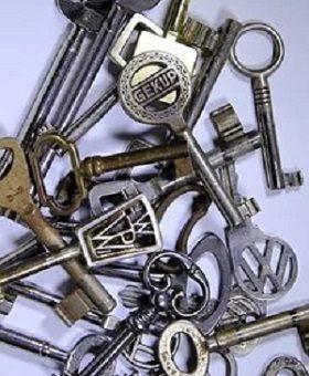 Möbelschlüssel: