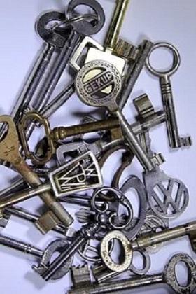 Welt der Möbelschlüssel