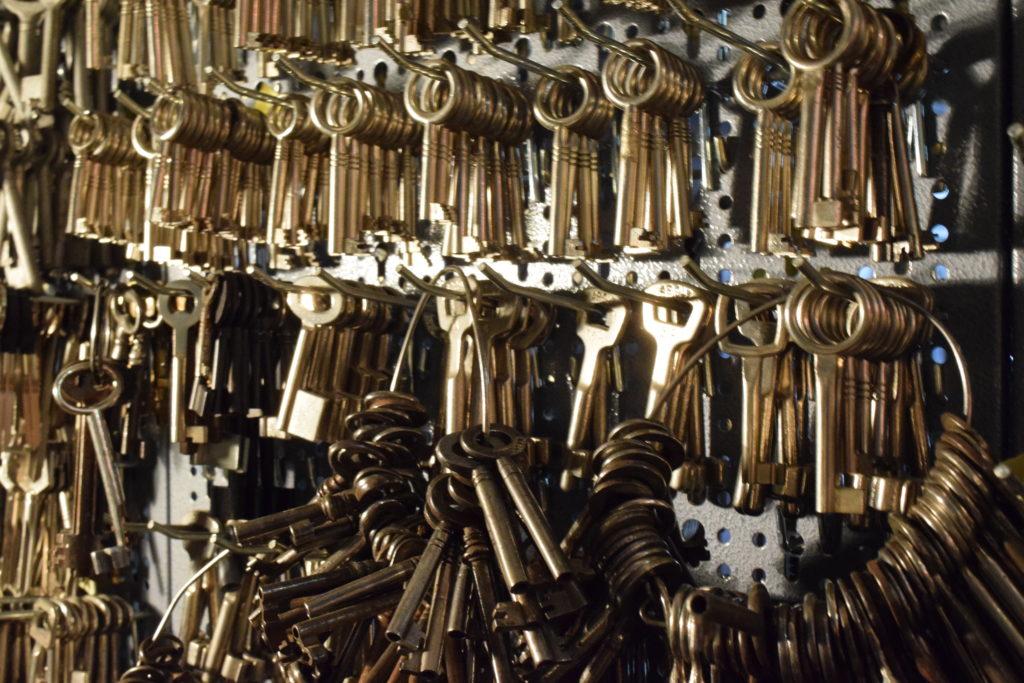 Dachboden und Keller Schlüssel
